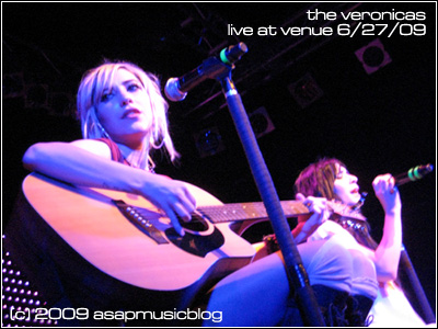 The Veronicas live at Venue.